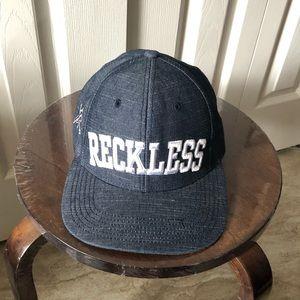 Reckless SnapBack denim hat